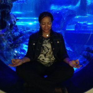 Sherrice Meditating